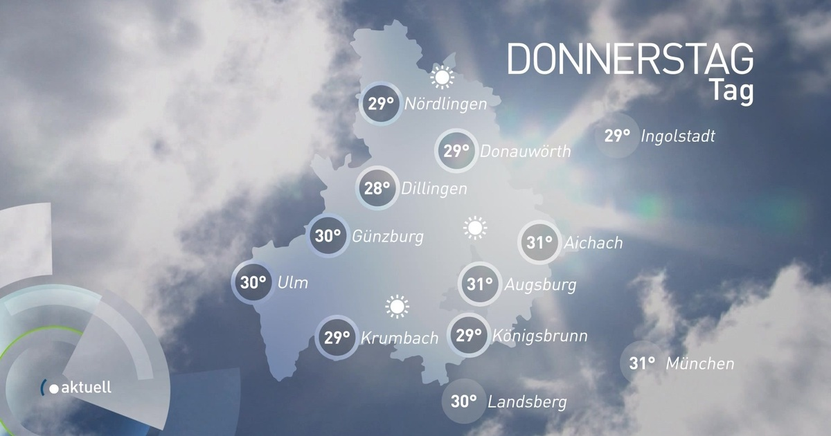 Augsburg Wetter