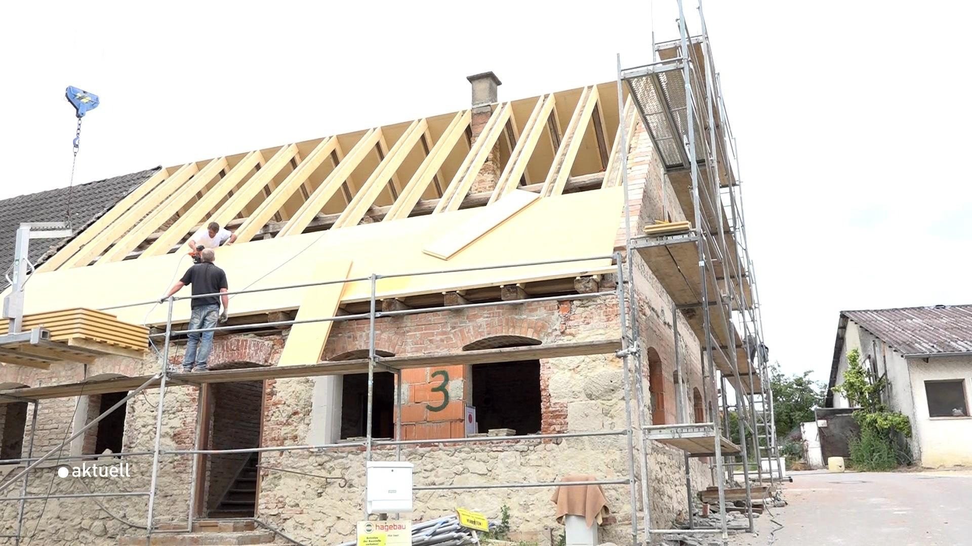 Sanierung eines denkmalgeschützten Bauernhauses